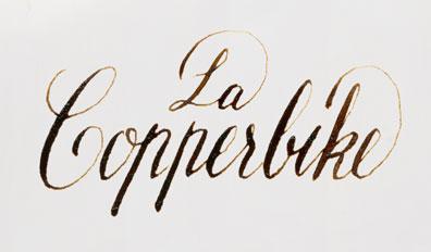 la cooper bike lettering